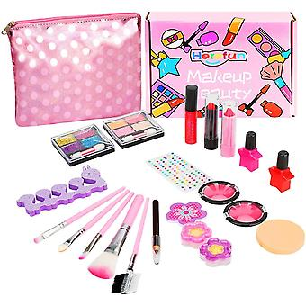 FengChun Make-up Set fr Kinder, Kinderschminke Set Mdchen, 21 Stck Waschbar Kinderschminke Set mit