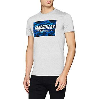 Tom Tailor 1008955 T-Shirt, Elfenbein (Blanc De Blanc Wit 11077), XL Heren