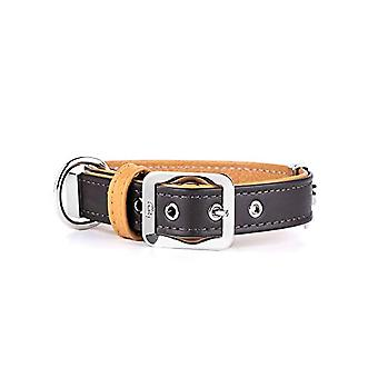 My Family Adjustable Collar in Real Leather Made in Italy Hermitage Collection(10)