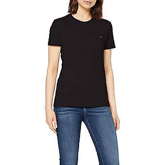 Tommy Hilfiger Heritage Crew Hals T-Shirt, Schwarz (Masters Black 017), Große Frau