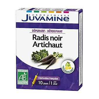 Depurative / Detoxifying - Black Radish / Artichoke 10 ampoules of 10ml