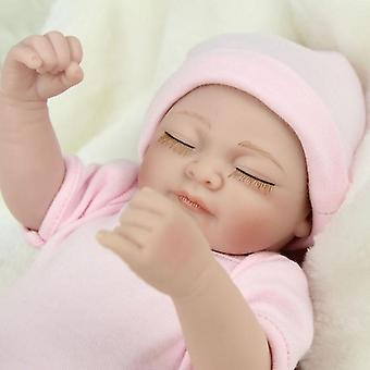 H gerçek görünümlü yenidoğan bebek vinil silikon bebek kız hediye tarak pl-688 yaptı