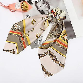 Floral Print Scrunchies elastische Haarbänder