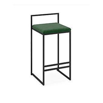 Minimalist Bar Chair Fashion Front Desk Chair Nordic Bar  Creative High Stool