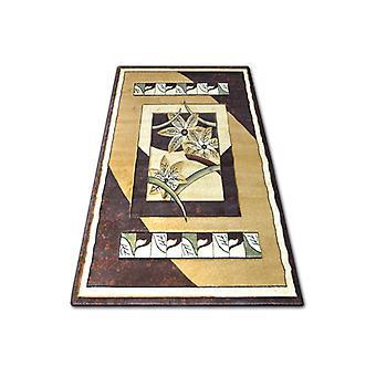 Rug heat-set KIWI 4703 l.beige/d.brown