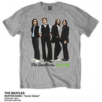Die Beatles ikonische Farbe Herren grau Tshirt: X large