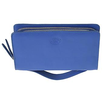 Ladies Extra Large Genuine Leather Clutch Purse