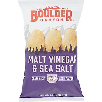 Boulder Canyon Chip Cut Mltvngr& Seaslt, Case of 12 X 6.5 Oz