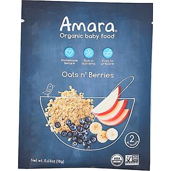 Amara Baby Food Oats N Berries, Case of 5 X 1 Each