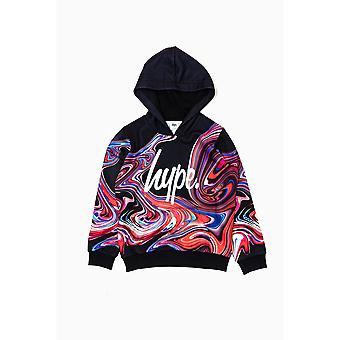 Hype Childrens/Kids Marble Pullover Hoodie