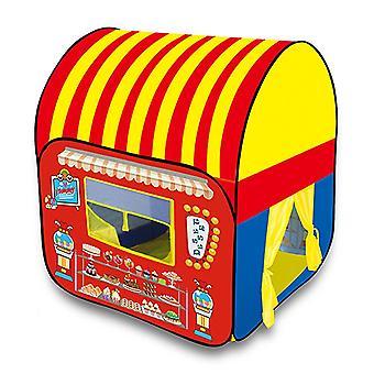 الأطفال يلعبون للطي المنبثقة خيمة الاطفال خيمة البيت الداخلي الأميرة القلعة الصغيرة Sweetkids خيمة البيت الملونة