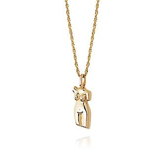 Daisy Vita 18ct Gold Plate Necklace AN03_GP