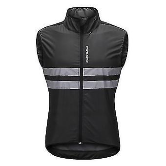 Polkupyörän pelipaidat wosawe hihaton pyöräily jersey tuulenpitävä hengittävä mtb ratsastus huippu urheilutakki miehille ja naisille