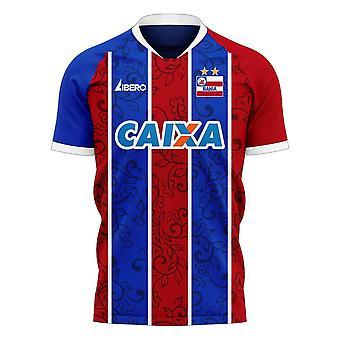 Bahia 2020-2021 Home Concept Football Kit (Libero) - Adult Long Sleeve