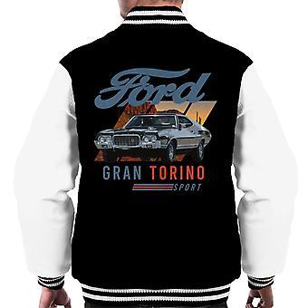 Ford Gran Torino Sport aavikko miesten varsity takki
