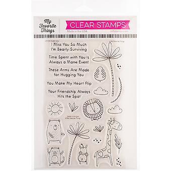 """Meine Lieblingsdinge Eindeutig sentimentale Briefmarken 5""""X8"""" - Sweet Safari"""