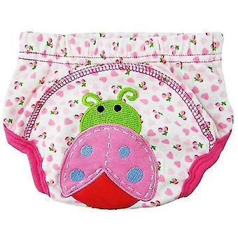 Baumwolle Cartoon Trainingshose - wiederverwendbare Unterwäsche Unterhosen für Säugling