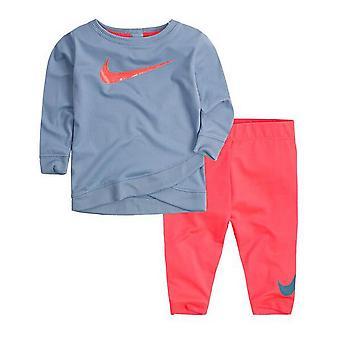 بدلة رياضية للأطفال 669S-A5C نايكي الأزرق