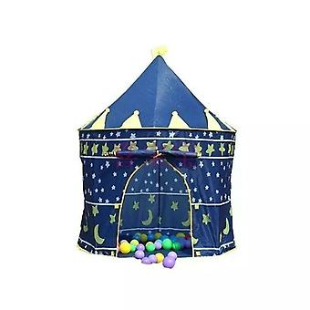 Verwelkomd door Childrens Kids Baby Pop Up Play Tent Fairy Girls Boys Playhouse (blauw)