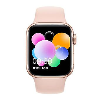 Bluetooth phone smart bracelet  color screen heart rate blood Smart Watches(T500 pink)