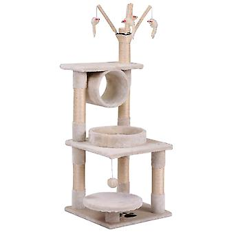 Small Cat Kitten Tree With Tower House Scratcher Activity Centres