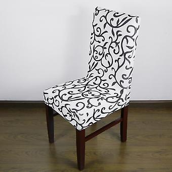 Jacquard Printed Thickening Stretch Brief Chair Cover Half Chair Covers