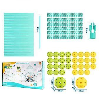 210 buc Fort Kituri de constructii pentru copii de învățare jucării