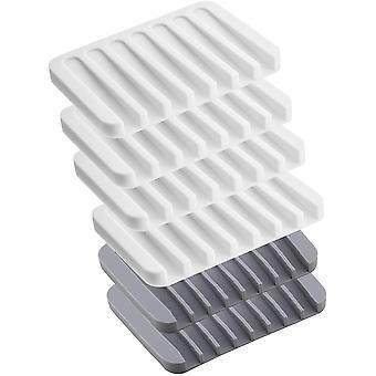 Łatwy do czyszczenia uchwyt na mydło nadaje się do utrzymywania suchych kostek mydła 6szt