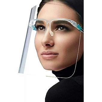 2-teilige doppelseitige Anti-Beschlag Transparente Schutzmaske
