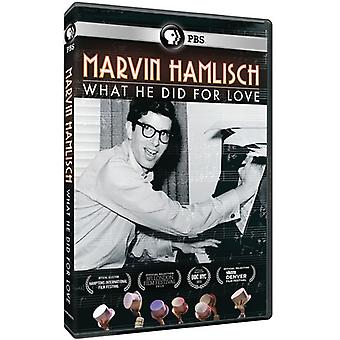 American Masters - American Masters: Marvin Hamlisch: What He Did for [DVD] USA import