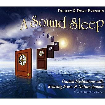 Dudley Evenson & Dean - Sound Sleep: Guided Meditations with Relaxing Musi [CD] USA import