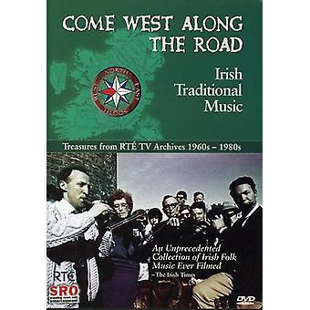 Kom väst längs vägen [DVD] USA import