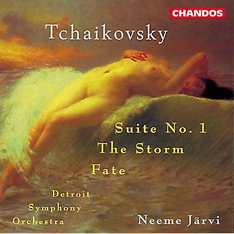 P.I. Tchaikovsky - Tchaïkovski: Suite no 1; la tempête; Import USA sort [CD]