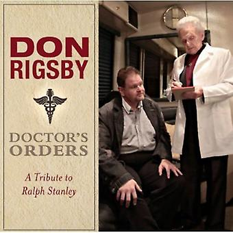 Don Rigsby - Doctor's Orders-a Tribute to Ralph Sta [CD] USA import