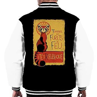 Les Furets de Feu Legend Of Korra Men's Varsity Jacket