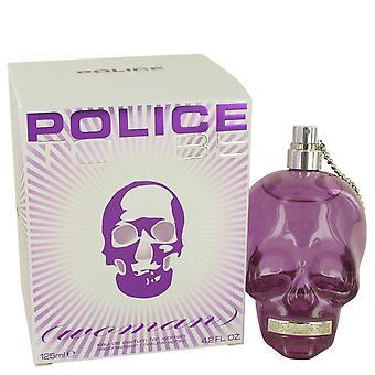 Polizia di essere donna Eau de Parfum 40ml EDP Spray