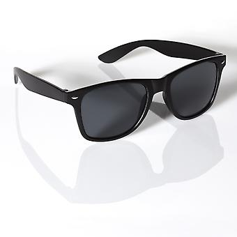 BLACK WAYFARER SUNGLASSES UV400 UNISEX RETRO 80'S geek shades aviator classic