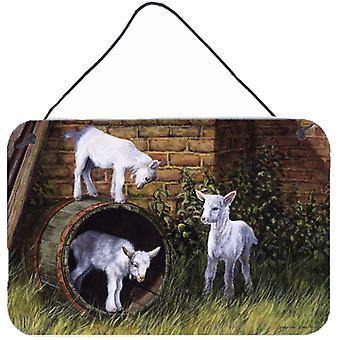 Cabras por Daphne Baxter parede ou porta-impressões de suspensão