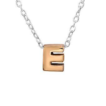 E - 925 Sterling Silver Plain Necklaces - W31027x