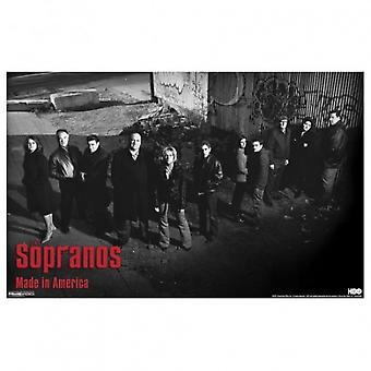 Die Sopranos-Gasse-Poster-Plakat-Druck von