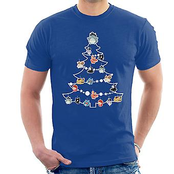 Studio Ghibli Christmas Tree Baubles Men's T-Shirt