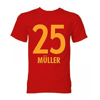 Thomas Müller Bayern München Held T-Shirt (rot)