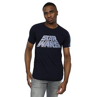 Star Wars mænds sølv Logo T-Shirt