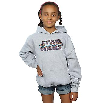 Star Wars Girls Colour Aztec Logo Hoodie