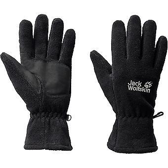 Jack Wolfskin Mens Artist Lightweight Fleece Winter Gloves