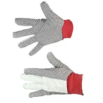 Gardening & DIY Gloves Polker Dot Rubber Grips Gardening Gloves