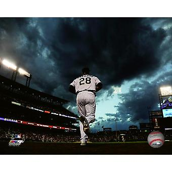 Nolan Arenado 2015 Action Photo Print