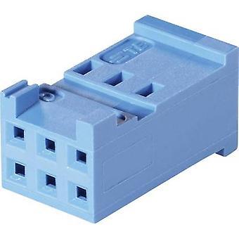 TE Connectivity Socket kabinet - kabel AMPMODU HE13/14 samlede antal stifter 20 kontakt afstand: 2,54 mm 1-281839-0 1 computer(e)