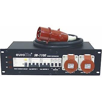 Eurolite SB-1100 19 power distributor 9x 3 U
