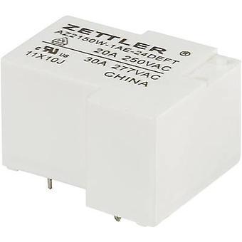 Zettler Electronics AZ2150W-1AE-24DEFT PCB relay 24 V DC 30 A 1 maker 1 pc(s)
